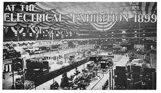 At the Electrical Exhibition 1899