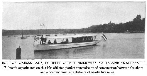 Ruhmer System on Lake