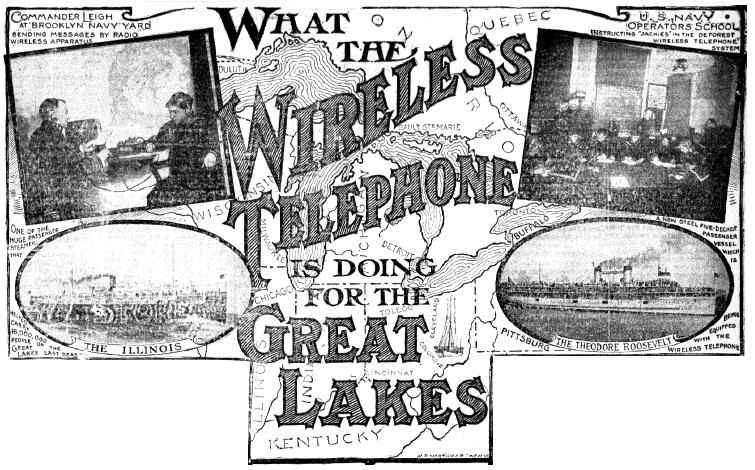 What The Wireless Telephone is Doing for the Great Lakes