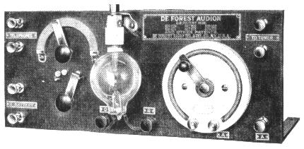 "audion and vacuum tube receiver development 1907 1916 Edwin h armstrong papers, 1886-1982  edwin h armstrong papers, 1886-1982 [bulk dates:  lee de forest created the ""audion"", an early vacuum tube,."
